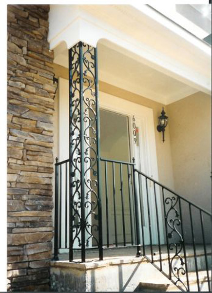 Fantastic Watson Steel & Iron Works | Porch Columns & Coverings XF18
