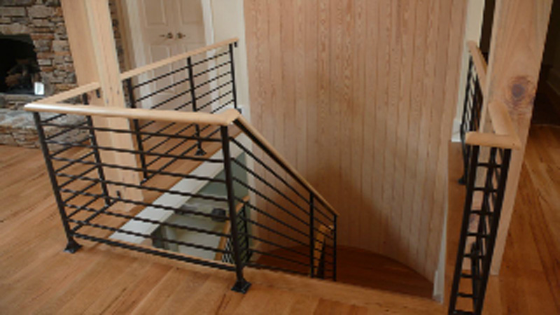 Ordinary Indoor Railing Ideas #1: Interior Rails