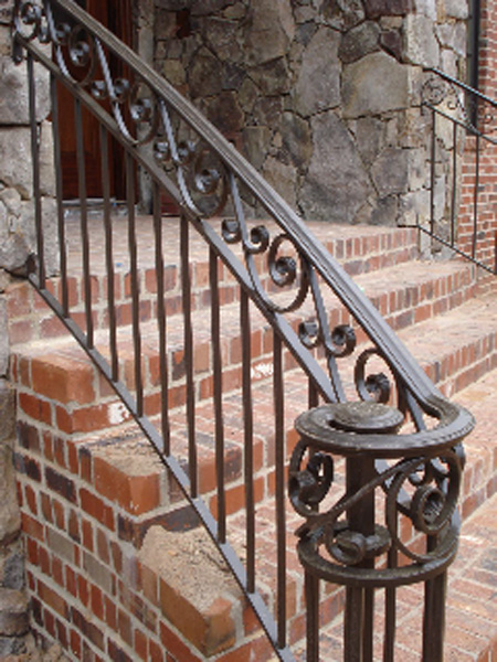 Watson Steel Amp Iron Works Upgraded Railing